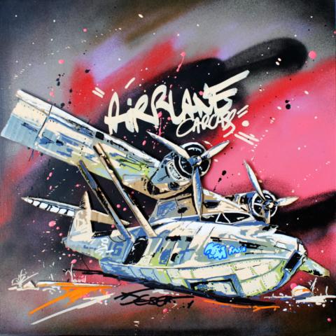 Gardien du désert - Pappay - artiste graffeur