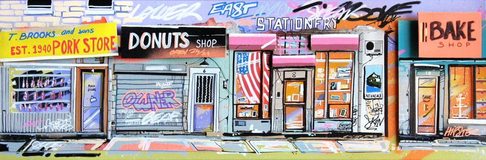 NY stores - street art - Pappay